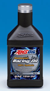 AMSOIL Dominator® Synthetic 15W-50 Racing Oil (RD50)