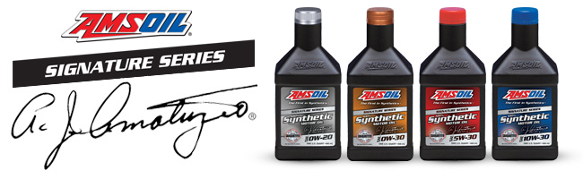 Amsoil Signature Series 100% Synthetic Oil