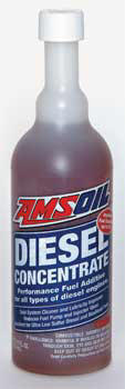 Amsoil Diesel Fuel Concentrate cleans and lubricity improver