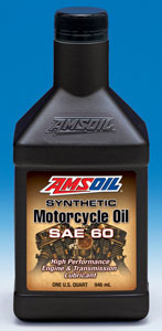 SAE 20W-50 Synthetic Motorcycle Oil (MCV)