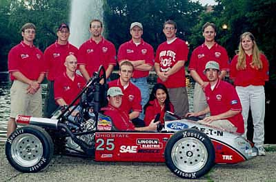 Ohio State University Formula S.A.E. Car #25 and Crew