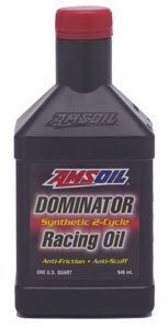 Amsoil Snowmobile Racing Oil - Dominator