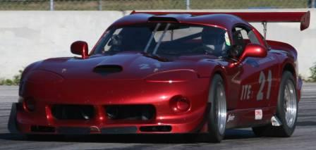Amsoil Sponsored Dodge Viper Road Race Car -SCCA  ITE Record Holder - Race Track Qualifying Session